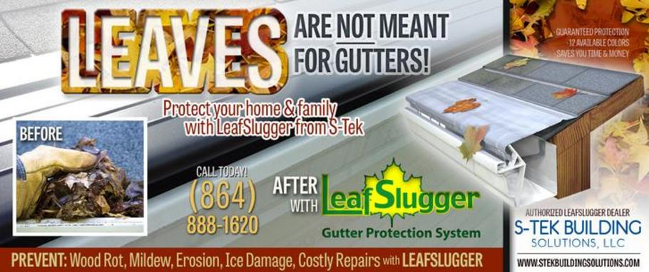 LeafSlugger Gutter Protection from S-Tek